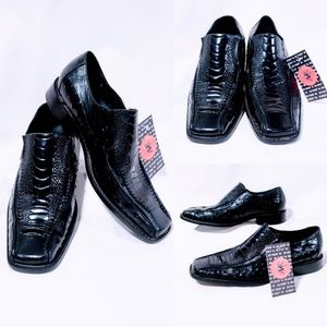 Stacy Adams Shoes - Stacy Adams black alligator shoes size 9.5M🦅